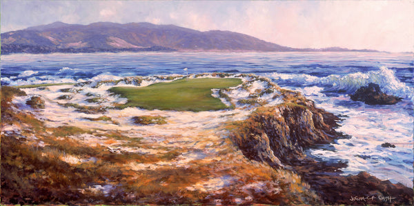 The 7th at Pebble Beach in 1929