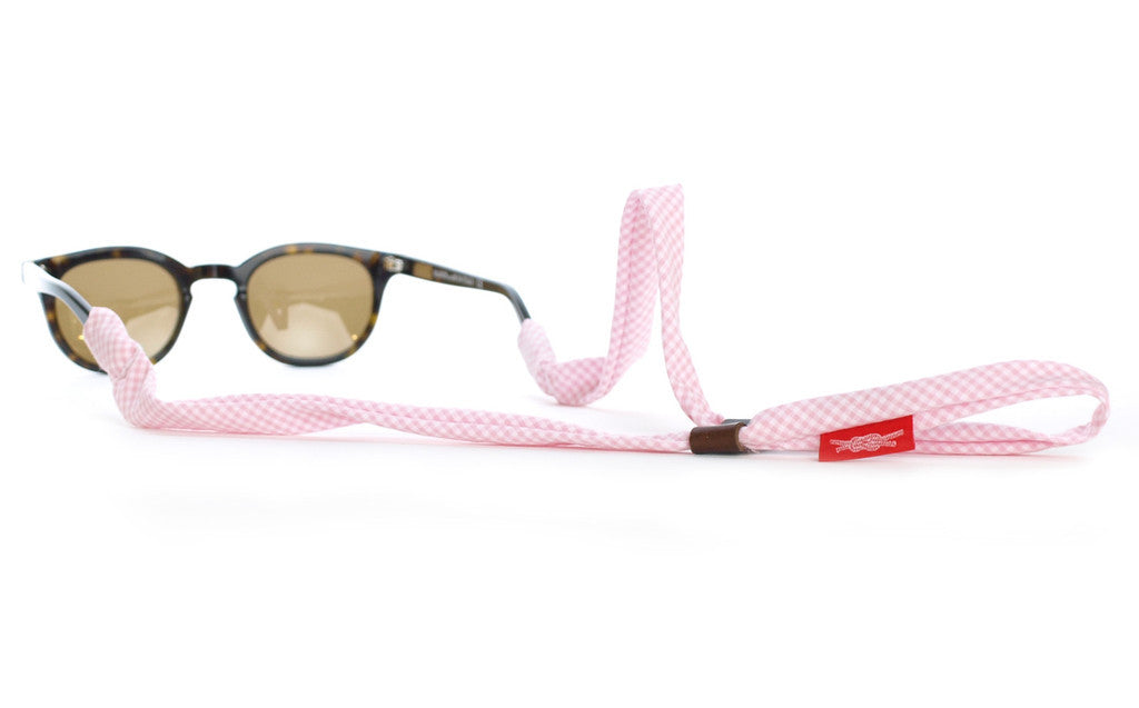 Pink Gingham SHADESTRAPS™