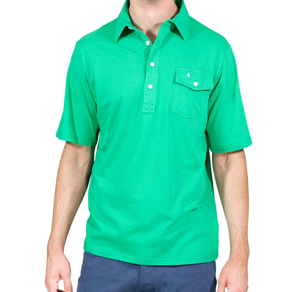 The Players Shirt - Augusta Green