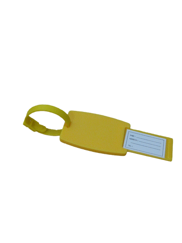Luggage Tag - Yellow