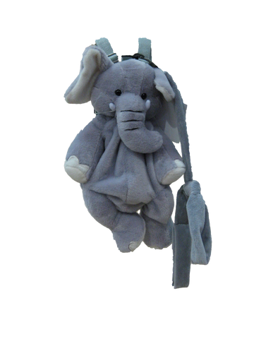 Soft Toy Bag - Elephant