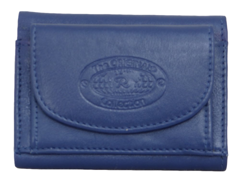 Coin Purse With Wallet - Cobalt