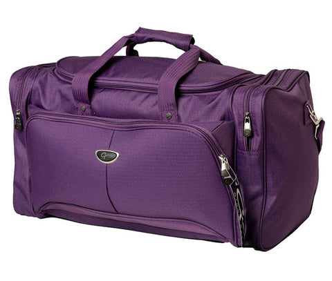 Weekend/Gym Bag - Purple
