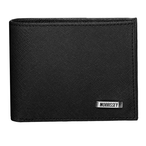 RFID Protected Morrissey Leather Wallet - Black