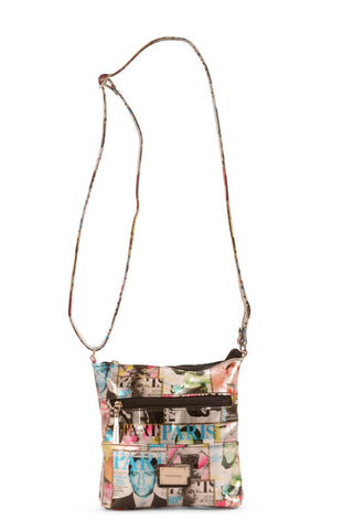 Magazine Print Should Bag - Multi