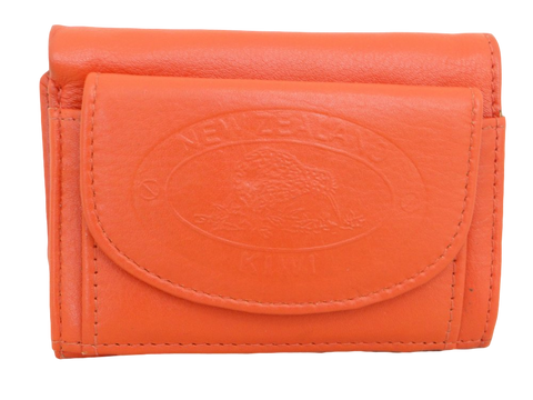 Coin Purse With Wallet - Orange