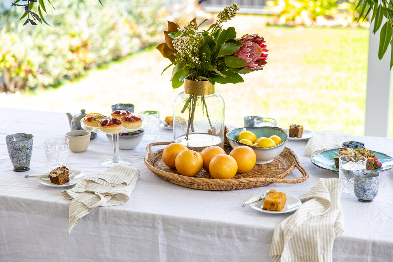 Our Crisp & Timeless Table Linen