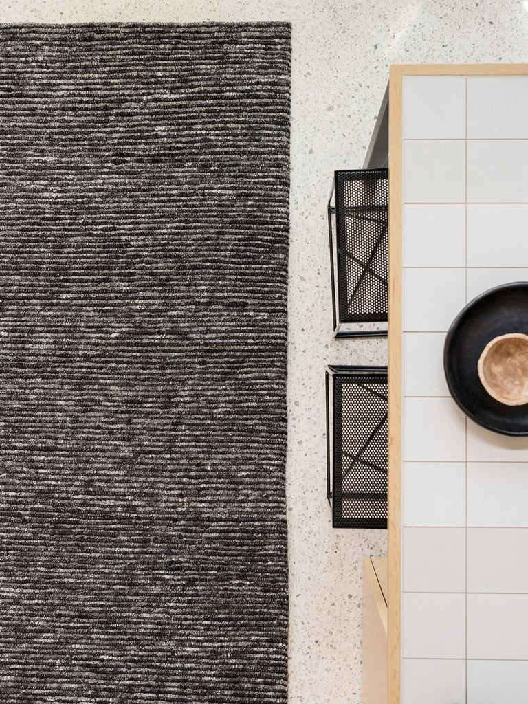 Discover Armadillo & Co's latest rug, Husk | Ink