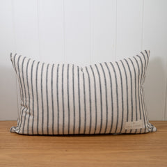Lighthouse Ticking Linen Cushion Cover | 35 x 55cm