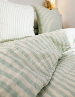 Linen Tunic Dress in Dusty Pink by Seaside Tones at Salt Living
