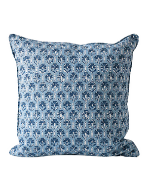 Shimla Linen Cushion in Riviera 50cm by Walter G Textiles