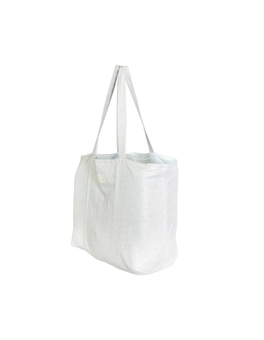 Oversized Linen Tote Bag in Island Natural | Salt Living