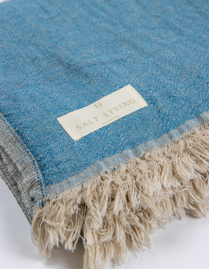 Bay Linen Throw in River by Salt Living