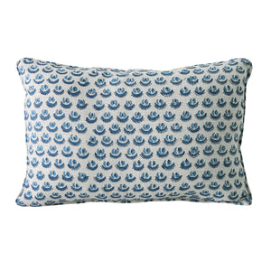 Cadiz Linen Cushion in Riviera 30x45cm by Walter G at Salt Living