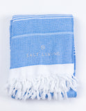 Malibu Turkish Towel in Sea from Salt Living