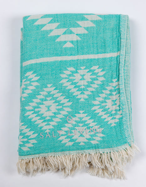 Reef Turkish Towel in Shallows