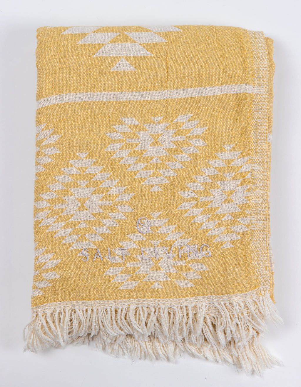 Reef Turkish Towel in Sunshine from Salt Living