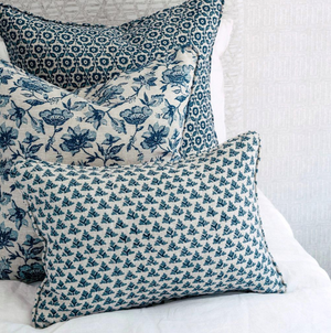 Java Linen Cushion in Riviera | 50cm | Walter G Textiles