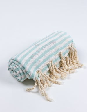 Seafarer Turkish Towel in Seafoam from Salt Living