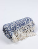 Soleil Turkish Towel in Deep Sea from Salt Living