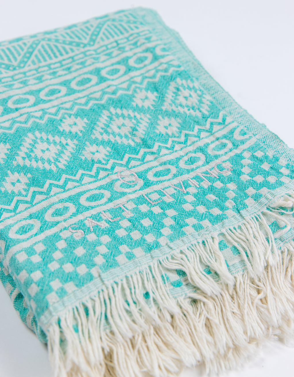 Soleil Turkish Towel in Shallows from Salt Living