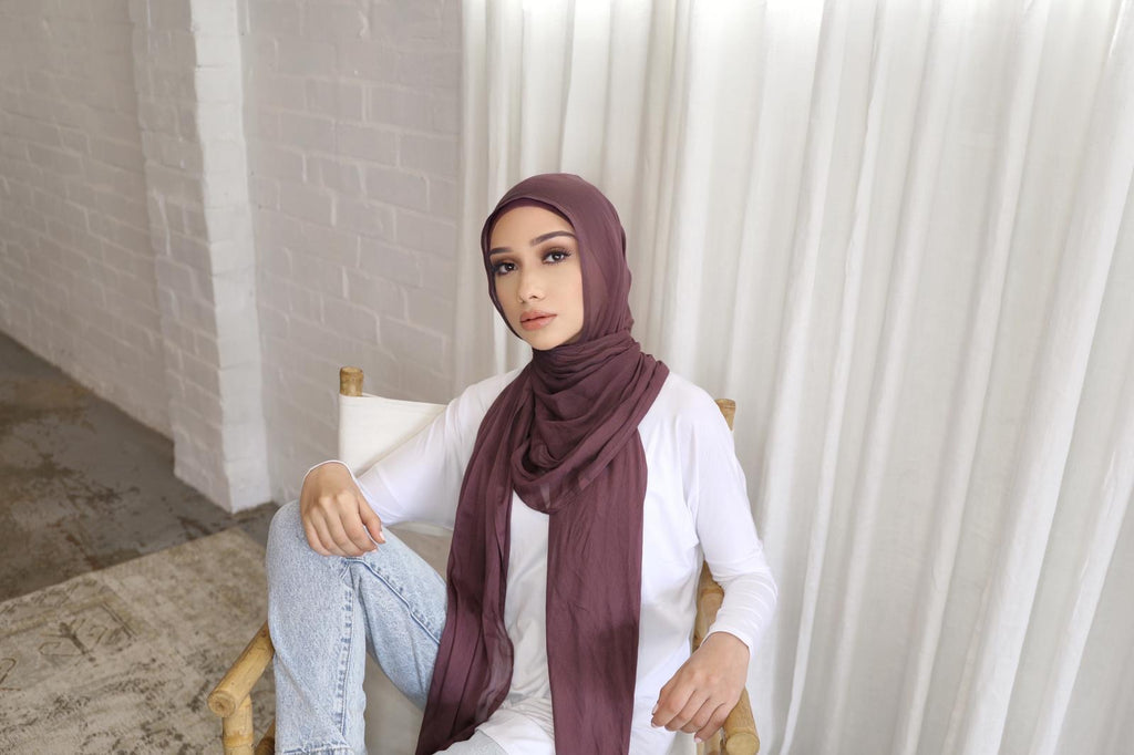 Unedited Berry Hijab