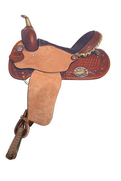 Fancy Lightweight Saddle by Alamo Saddlery