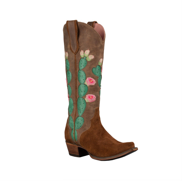 Hard to Handle Cowboy Boot in Rust by Junk Gypsy Co.