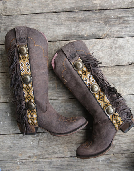 Sunset Boulevard Cowboy Boot in Brown by Junk Gypsy Co.