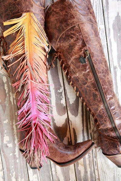 Spirit Animal Cowboy Boot in Brown by Junk Gypsy Co.