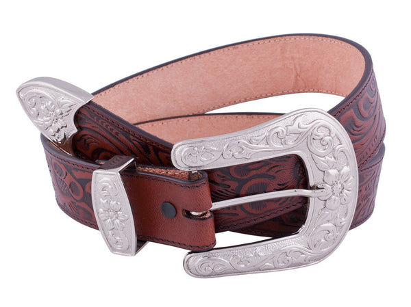 Western Floral Belt by 3D Belt Company