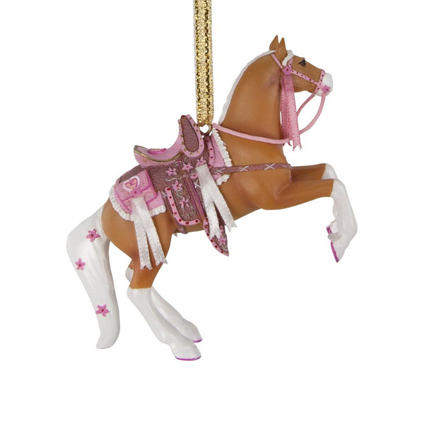 Cowgirl Cadillac Ornament by Trail of Painted Ponies