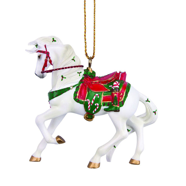 Santa's Stallion Ornament by Trail of Painted Ponies