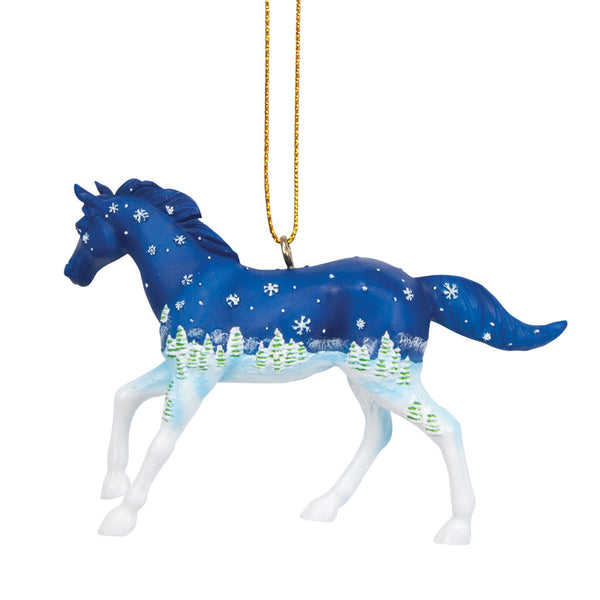 Old Fashioned Christmas Ornament by Trail of Painted Ponies