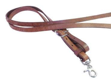 Adjustable Roping Reins in Toast by Alamo Saddlery
