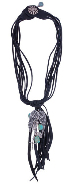 Wings and Crosses Necklace by Amazing Grace