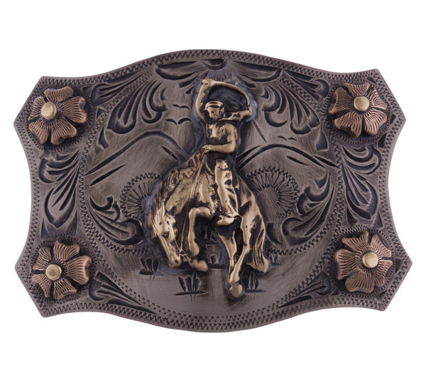 Bronco Trophy Buckle by Appaloosa Trading Co.