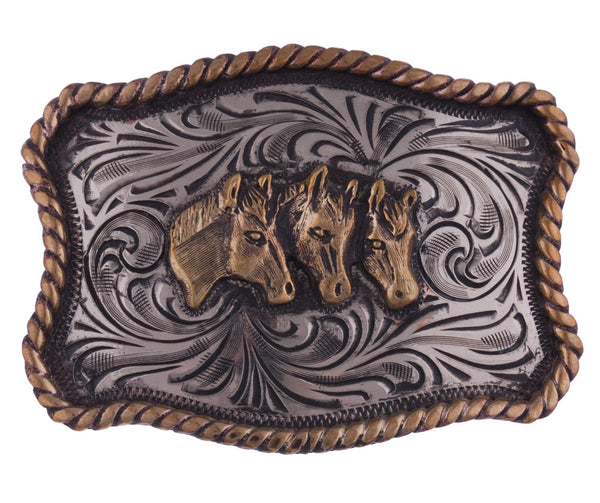Horse Portrait Trophy Buckle by Appaloosa Trading Co.