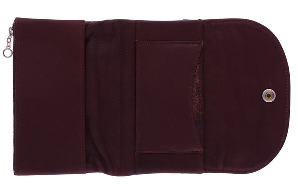 Silverton Clutch Wallet in Brown by Appaloosa Trading Co.