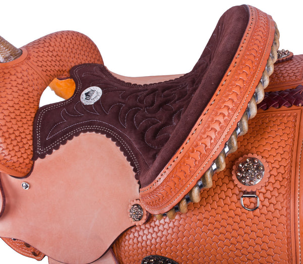 Canyon Creek Special Barrel Racing Saddle by Alamo Saddlery