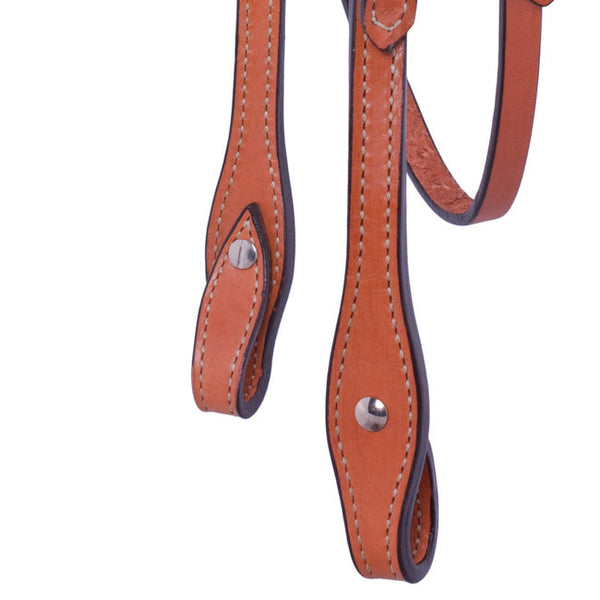 Straight Browband Headstall by Alamo Saddlery