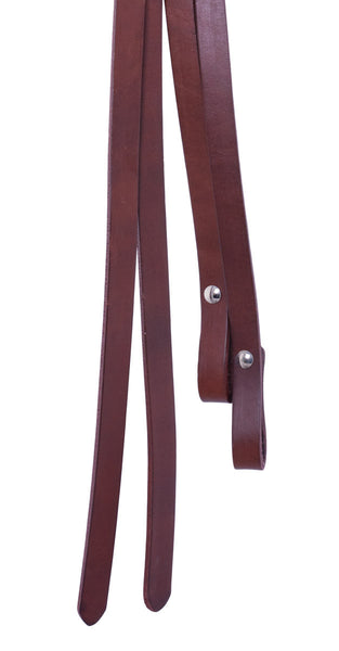 Split Reins in Chocolate by Alamo Saddlery