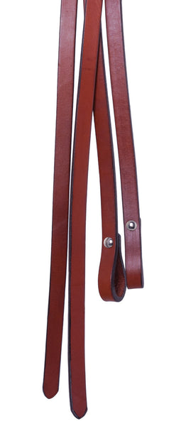 Split Reins in Caramel Toast by Alamo Saddlery