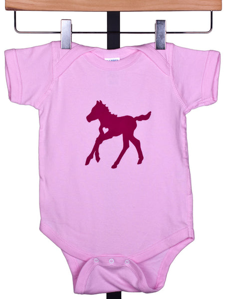 Frisky Foal Onesie for Girls by Wyo Horse