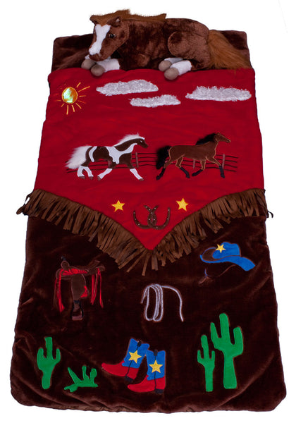 Cowboy Ranch Slumber Bag by Carstens