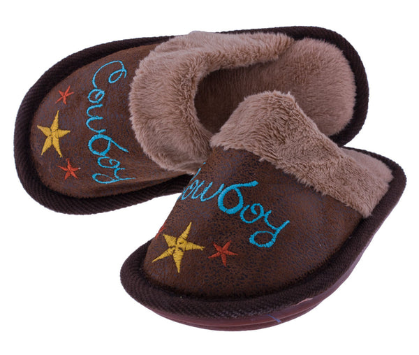 Cowboy Slippers (by Carstens)