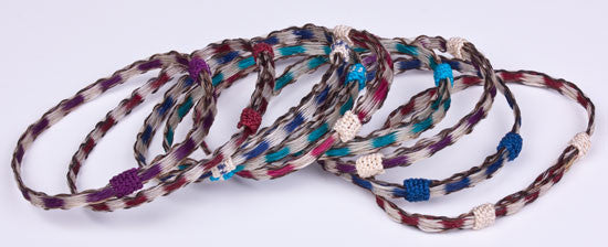 Horsehair Friendship Bracelet by Colorado Horsehair