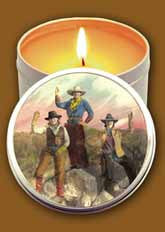 Cowgirls Candle Tin by Wild West Company