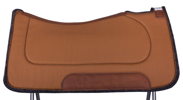 Contoured Ranch Saddle Pad by Diamond Wool Pad Co.