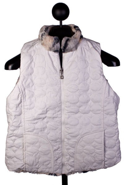 Snow Leopard Vest by Ethyl Denim